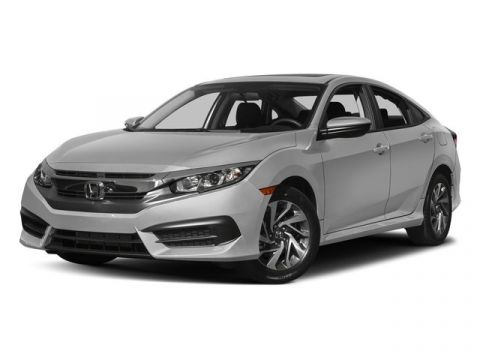 Pre-Owned 2017 Honda Civic Sedan EX