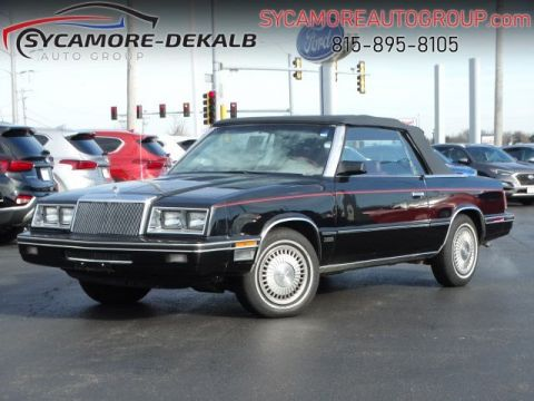 Pre-Owned 1984 CHRYSLER LEBARON Base